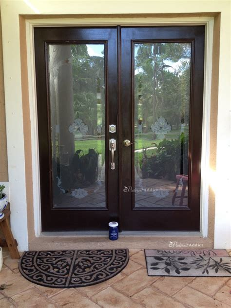 Sherwin Williams Black Bean modern masters front door paint pinterest addict