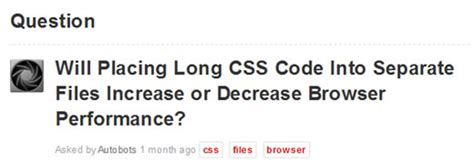 css tutorial separate file should long css code be divded into several files