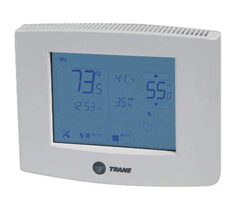 trane comfort site termostatos