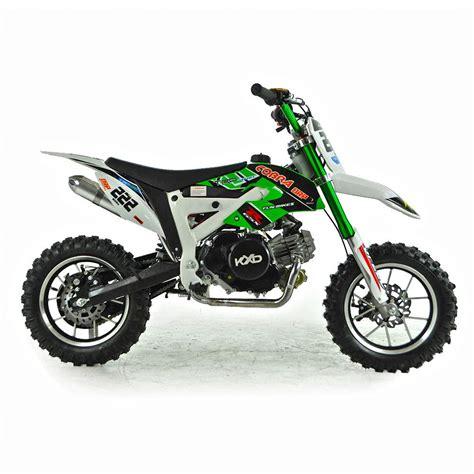 green dirt bike cobra 4s 50cc 62cm green kids mini dirt bike fics