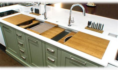 Galley Kitchen Sink 1000 Images About The Galley Workstation On Highlights Sinks And Contemporary Kitchens