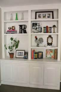 Living Room Shelves by Ten June My Living Room Built In Bookshelves Are Styled