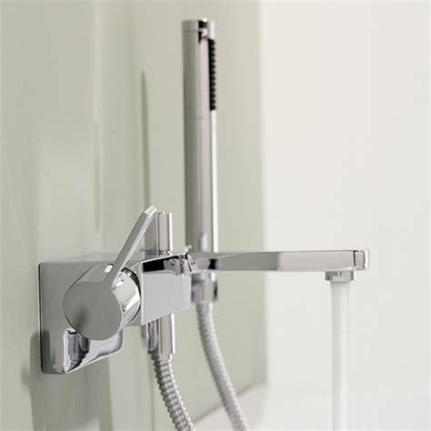 mixer bathroom dornbracht lulu wall mounted single lever bath mixer with