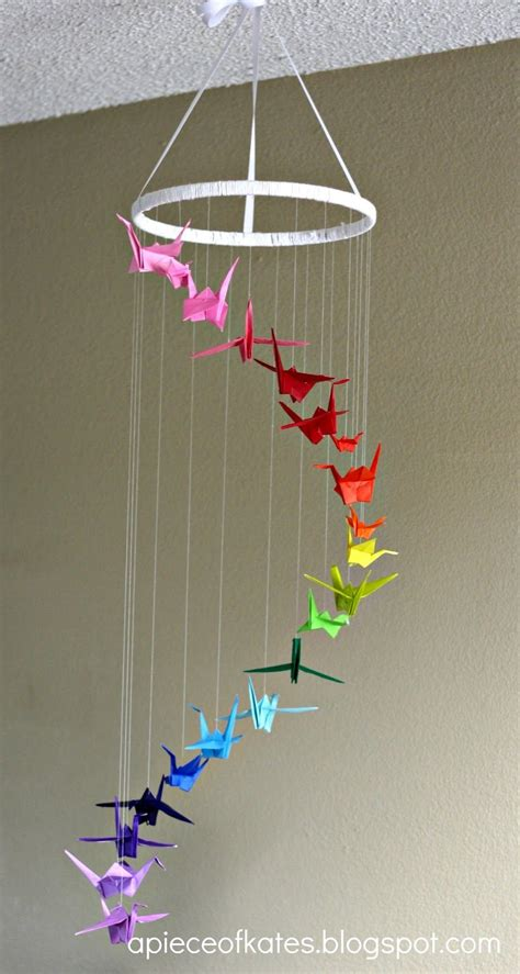Crane Origami Mobile - origami on origami cranes origami and