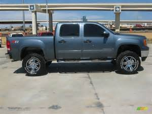 Gmc Truck Custom Wheels 2008 Gmc 1500 Sle Crew Cab 4x4 Custom Wheels Photo
