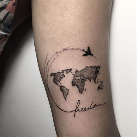 worldwide tattoo world map valid 35 best world map