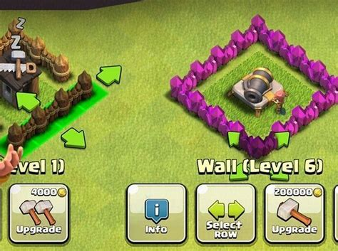 all clash of clans wall upgrades upgrade wall with elixir is this good or bad