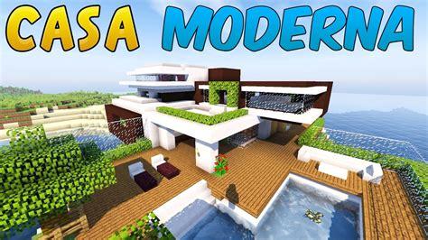 minecraft come costruire una casa come costruire una casa moderna minecraft parte 1