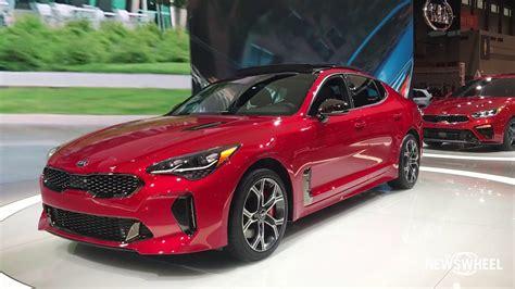 2019 Kia Stinger Gt by 2019 Kia Stinger Gt Walk Around Chicago Auto Show 2018