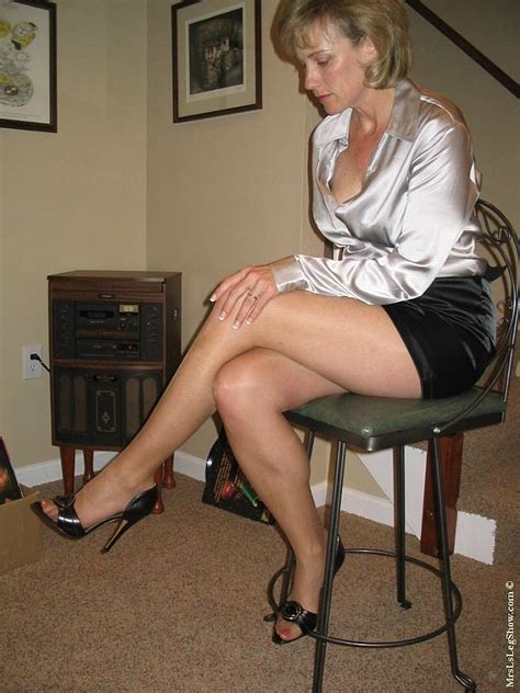 older mature topless heels sitting pin by satinlove on grey satin blouse pinterest