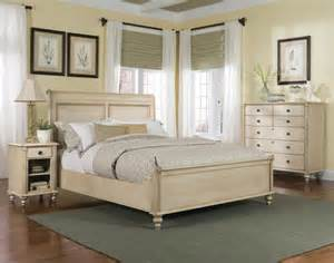 Cream Bedroom Furniture Sets Durham Furniture Savile Row 4 Piece Sleigh Bedroom Set W