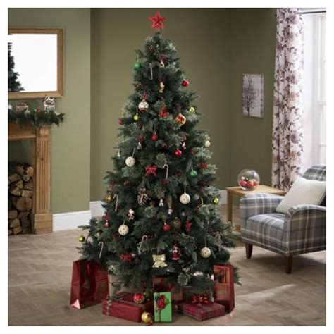 buy luxury regency fir 7ft christmas tree tesco from our