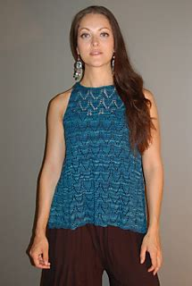 ravelry back panel a line top pattern by sally melville