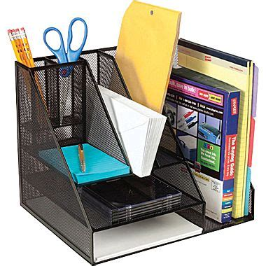 Office Desk Wire by Staples 174 Black Wire Mesh Desk Organizer