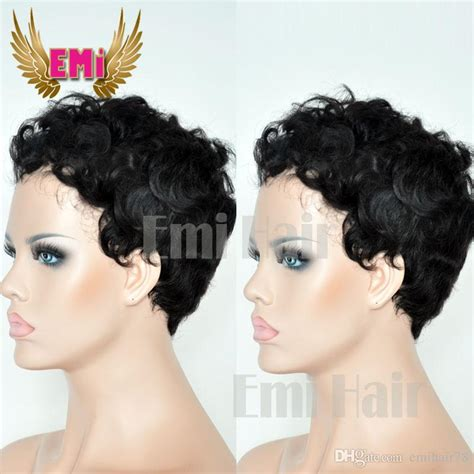 cheap haircuts midland human hair wigs cheap pixie cut short with baby hair