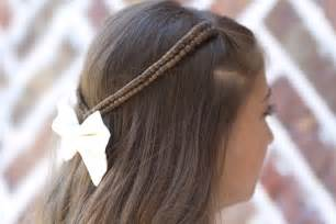 Infinity Braid Hairstyle Infinity Braid Tieback Back To School Hairstyles