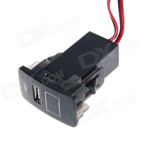 Usb Car Socket car 2 1a usb port socket with voltage display for honda