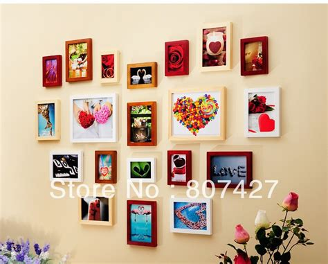how to decorate wall at home 20 piece photo frame set promotion shop for promotional 20