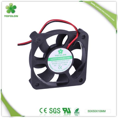 dc brushless fan 12v 50x50x10mm dc brushless fan 12v 24v 50mm dc fan