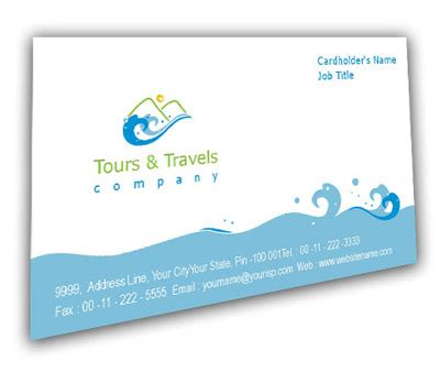 visiting card templates for tours and travels business card design for adventure tours offset or digital