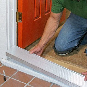 How To Replace Exterior Door Threshold Step By Front Door Repair Replacing A Sill And Threshold Front Door Pinterest Front