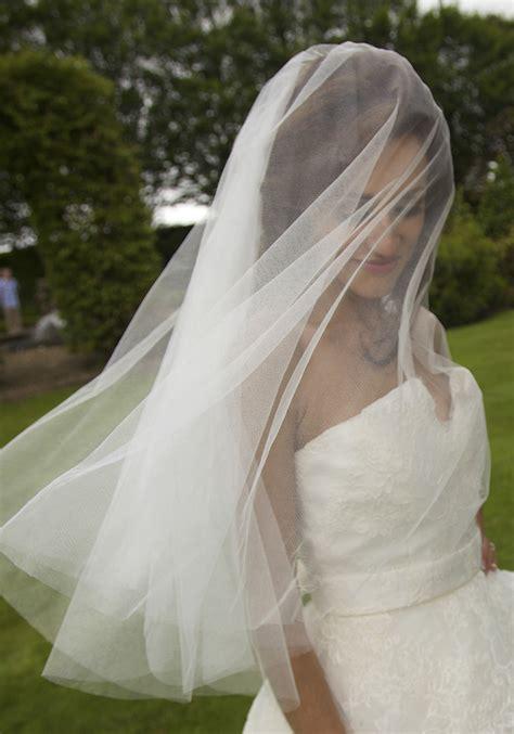 Wedding Veil by The Wedding Stationer S Husband Guise Silk Wedding Veils