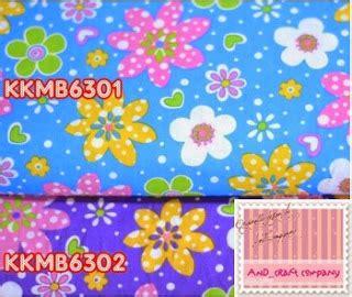 Kkb74 Kain Katun Jepang Motif Bunga Pink Uk 3 5 M X Lebar Kain jual kain katun and s crafts