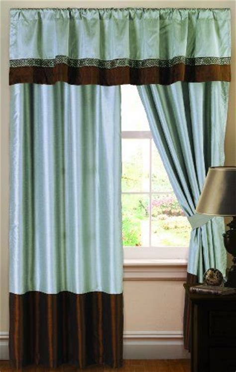 blue brown window curtains 64 best images about alex teal brown decor on