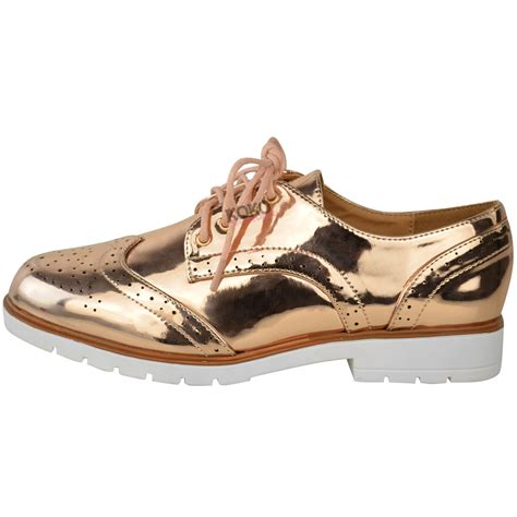 loafers and brogues womens flat brogues lace up pumps school work