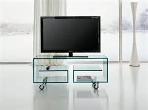 fernseher tische tv tisch auf rollen 28 originelle designs