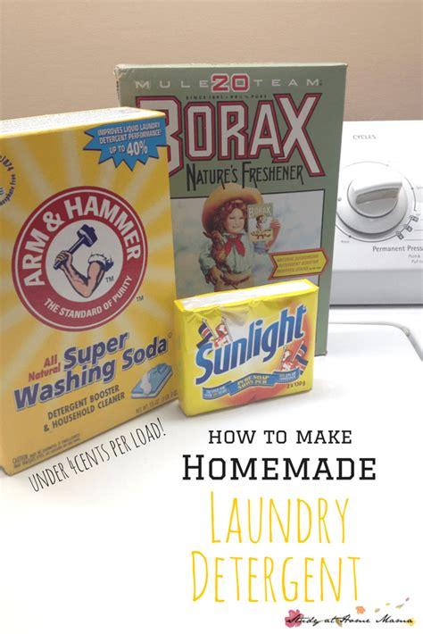 Homemade Laundry Detergent Sugar Spice And Glitter How To Make A Laundry