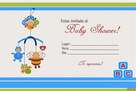 Tarjetas De Invitacion Para Imprimir Baby Shower Gratis | tarjetas de baby shower para imprimir gratis baby shower