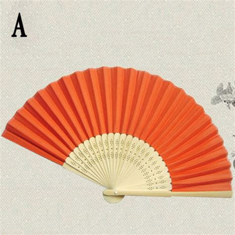 hand held folding fans wholesale folding hand held paper fans wedding party decor