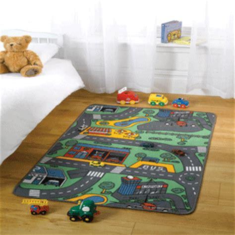road rug car matchbox corgi childrens city