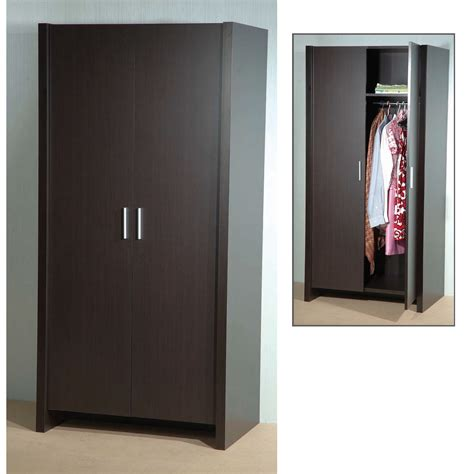 Picture Of Wardrobe by Dano 2 Door Wardrobe In Expresso Brown 5073 Furniture In Fas