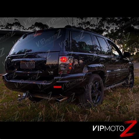 1999 jeep grand cherokee tail light smoke left right 99 04 jeep grand cherokee laredo