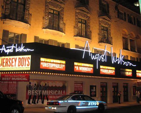 august wilson theatre broadway show