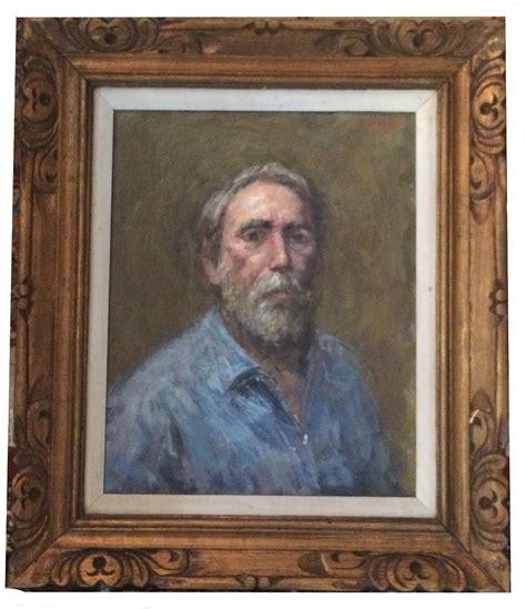thomas  strickland  portrait oil painting modernism