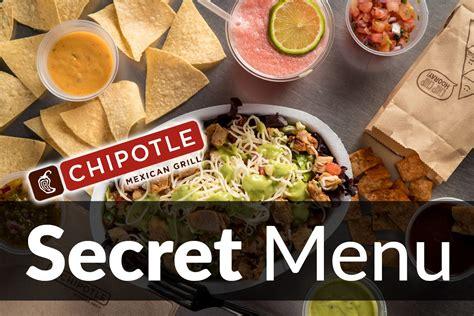 secret menu chipotle secret menu items may 2018 secretmenus