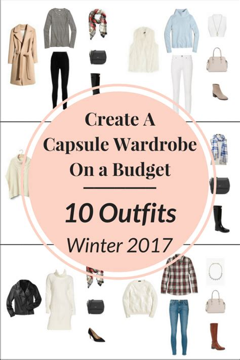 Creating A Capsule Wardrobe Tips by Create A Capsule Wardrobe On A Budget 10 Winter