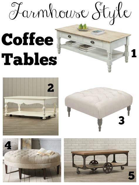 farmhouse style end tables transitioning to farmhouse style shopping guide