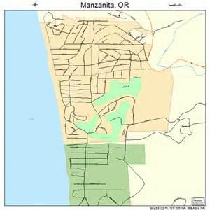 manzanita oregon map 4145700