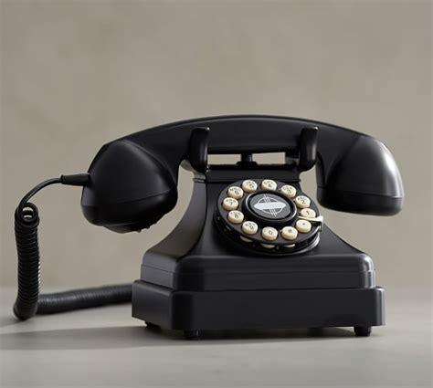 Crosley Desk Phone by Crosley Kettle Classic Desk Phone Pottery Barn