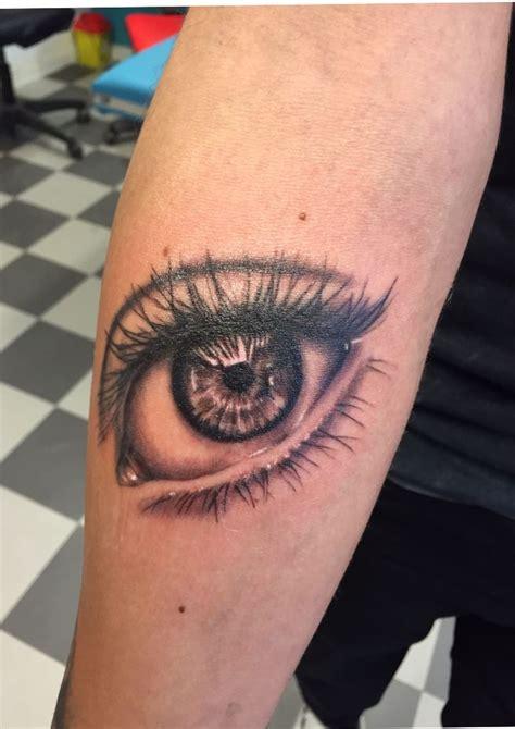 left eye tattoo eye realistic 246 ga realistiskt tatuering