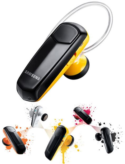 Headset Samsung Corby Corby Bluetooth Headset Dresses Up To Match Your Phone