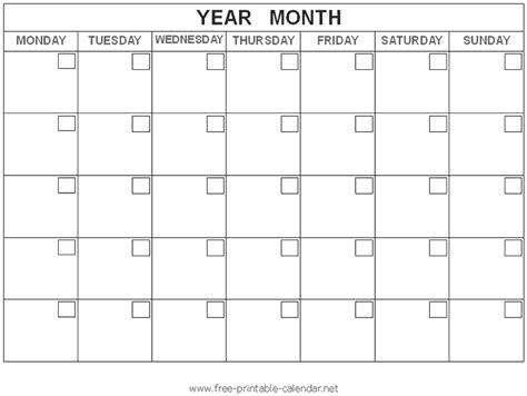 Calendars To Print Printable Blank Calendar Gameshacksfree