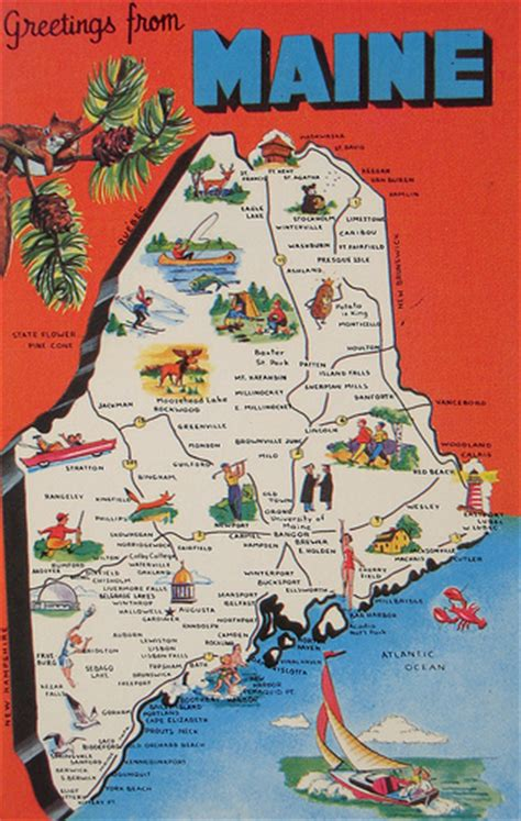 show me a map of maine maine 2014 antique paper show postcards and paper