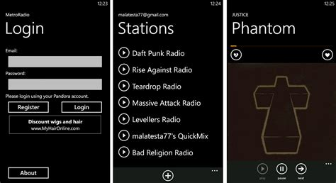 Surface Pro 3 Autologin by Unofficial Pandora App Clears The Marketplace Metroradio