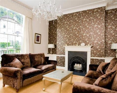 Feature Wall Wallpaper Ideas Living Room by Feature Wall Living Room Design Ideas Photos