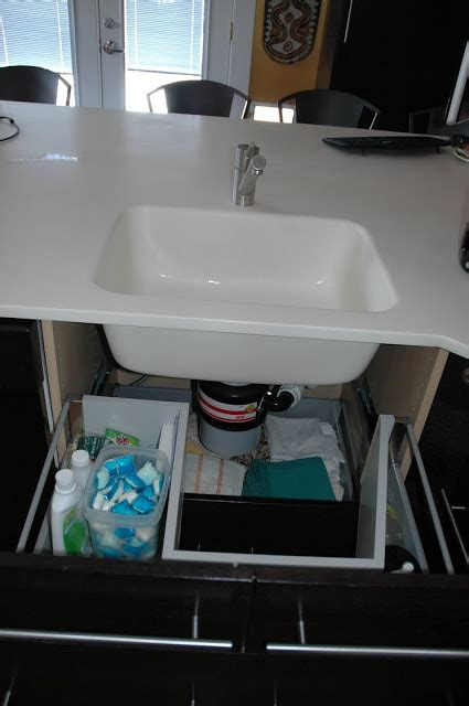 Ikea Under Sink Drawer | sink base with functional drawers ikea hackers ikea